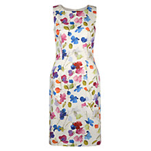Buy Hobbs Dalilah Dress, Ivory/Multi Online at johnlewis.com