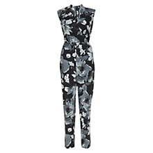 Buy Hobbs Delphine Jumpsuit, Grey/Multi Online at johnlewis.com