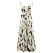 Buy Mint Velvet Elle Print Trapeze Maxi Dress, Multi Online at johnlewis.com