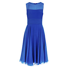 Buy Hobbs Ashling Dress, Lapis Blue Online at johnlewis.com