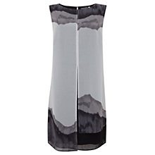 Buy Mint Velvet Amber Print Dress, Grey Online at johnlewis.com