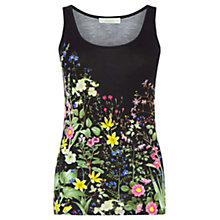 Buy Oasis Chelsea Physic Vest Top, Multi/Black Online at johnlewis.com