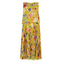 Buy Hobbs Tabitha Dress, Zest Green Online at johnlewis.com