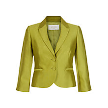 Buy Hobbs Dalilah Jacket, Waterlily Green Online at johnlewis.com