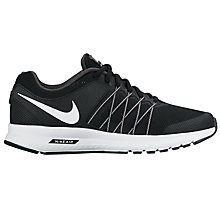 Buy Nike Air Relentless 6 Women's Running Shoes, Black/White Online at johnlewis.com