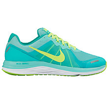 Buy Nike Dual Fusion X 2 Women's Running Shoes, Hyper Turquoise/Multi Online at johnlewis.com