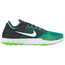 Buy Nike Flex Adapt TR Women's Cross Trainers, Green/White Online at johnlewis.com