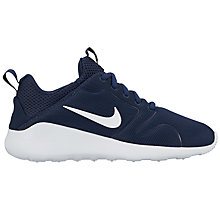 Buy Nike Kaishi 2.0 Women's Trainers, Midnight Navy/White Online at johnlewis.com