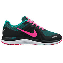 Buy Nike Dual Fusion X 2 Women's Running Shoes, Black/Multi Online at johnlewis.com