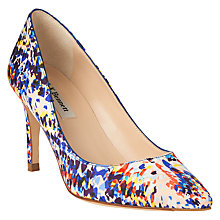 Buy L.K. Bennett Floret Pointed Court Shoes, Multi Online at johnlewis.com
