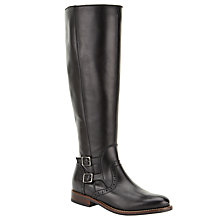 Buy John Lewis Tilly Knee High Boots, Black Online at johnlewis.com