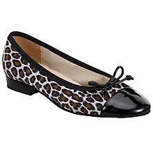 Buy John Lewis Halle Ballet Pumps, Leopard Online at johnlewis.com