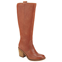Buy Collection WEEKEND by John Lewis Taurus Knee High Boots, Brown Online at johnlewis.com