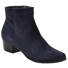 Buy John Lewis Albany Ankle Boots, Navy Online at johnlewis.com
