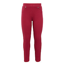 Buy John Lewis Girls' Textured Leggings Online at johnlewis.com