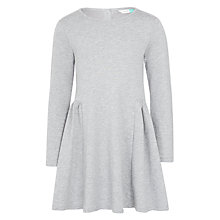 Buy John Lewis Girls' Skater Dress, Grey Online at johnlewis.com