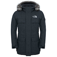Buy The North Face Men's Murdo Parka Jacket, Grey Online at johnlewis.com