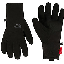 Buy The North Face Pamir Windstopper Etip Gloves, Black Online at johnlewis.com