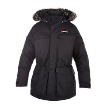 Buy Berghaus Ulvetanna Hydrodown Men's Parka Coat, Black Online at johnlewis.com
