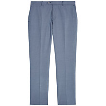 Buy Jaeger Wool Puppytooth Modern Fit Suit Trousers, Blue Online at johnlewis.com