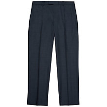 Buy Jaeger Wool Sharkskin Windowpane Check Classic Fit Suit Trousers, Blue Online at johnlewis.com