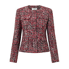 Buy Helene For Denim Wardrobe Belle Jacket, Pink Tweed Online at johnlewis.com
