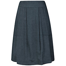 Buy Seasalt Wheal Remfry Denim Skirt, Dark Indigo Online at johnlewis.com
