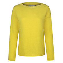 Buy Seasalt Fisher Knot Jumper, Mustard Online at johnlewis.com