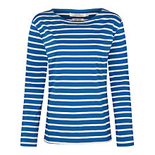 Buy Seasalt Sailor Jersey Top, Cargo/Ecru Online at johnlewis.com
