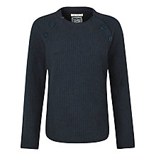 Buy Seasalt Kelson Lambswool Jumper, Fathom Online at johnlewis.com
