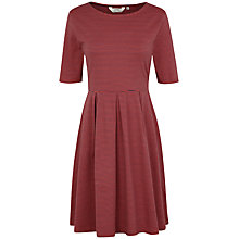 Buy Seasalt St Enodoc Stripe Dress, Narrows Rust Online at johnlewis.com