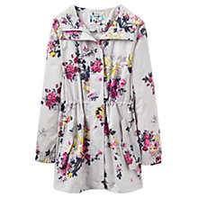 Buy Joules Right as Rain Golightly Printed Waterproof Parka, Silver Floral Online at johnlewis.com