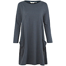 Buy Seasalt Mill Pool Stripe Jersey Dress, Garrow Night Fishscale Online at johnlewis.com
