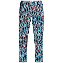 Buy Seasalt High Ground Printed Trousers, Shoal Fathom Online at johnlewis.com