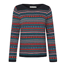 Buy Seasalt Heritage Fair Isle Jumper, Troika Fathom Online at johnlewis.com