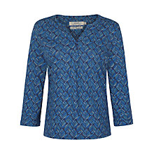 Buy Seasalt Ennis Top, Leaf Lines Marine Online at johnlewis.com