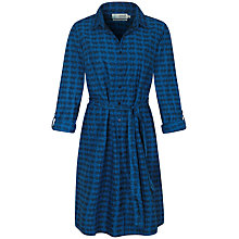 Buy Seasalt Manhassack Shirt Dress, Fish Pool Night Online at johnlewis.com