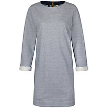 Buy Seasalt Port Isaac Stripe Tunic Dress, Kernewek Marine Online at johnlewis.com