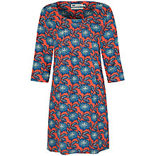 Buy Seasalt Wagtail Printed Dress, Winter Bloom Carnelian Online at johnlewis.com