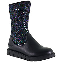 Buy Lelli Kelly Children's Glamour Nero Glitter Boots, Black Online at johnlewis.com