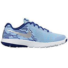 Buy Nike Children's Laced Flex EXP5 Sports, Blue Online at johnlewis.com