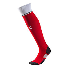 Buy Puma Children's Arsenal F.C. Home Football Socks, Red/Multi Online at johnlewis.com
