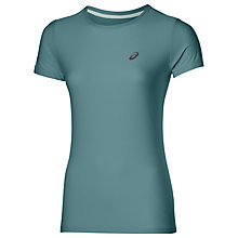 Buy Asics Short Sleeve Contrast Running Top Online at johnlewis.com