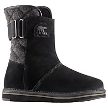 Buy Sorel Newbie Short Women's Snow Boots, Black Online at johnlewis.com