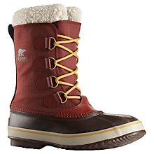 Buy Sorel 1964 PAC Nylon Men's Snow Boots, Red Online at johnlewis.com