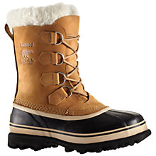 Buy Sorel Caribou Women's Winter Snow Boots, Brown Online at johnlewis.com