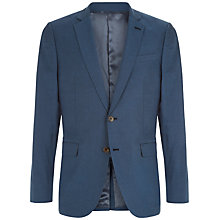 Buy Jaeger Oxford Cotton Slim Fit Suit Jacket, Blue Online at johnlewis.com