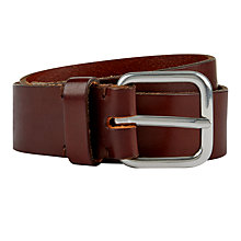 Buy Jaeger Leather Belt, Brown Online at johnlewis.com