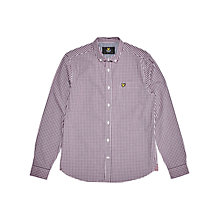 Buy Lyle & Scott Gingham Shirt Online at johnlewis.com
