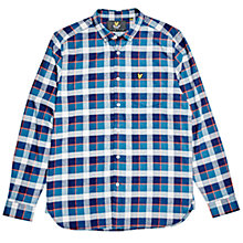 Buy Lyle & Scott Checked Flannel Shirt, Multi Online at johnlewis.com